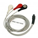 Leadwire Cable for Portable ECG / EKG Devices