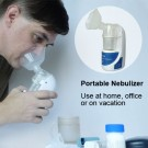 Portable Ultrasonic Nebulizer Nebuliser for Adults and Children